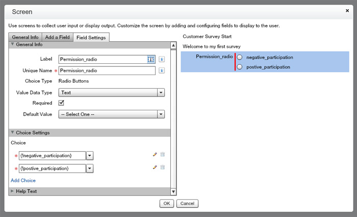 Create Surveys Using Salesforce Flow