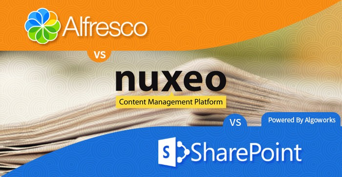 Alfresco vs Sharepoint vs Nuxeo – Enterprise Content Management Comparison