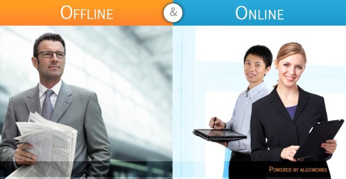Bridging the Gap between Offline and Online Promotion of App