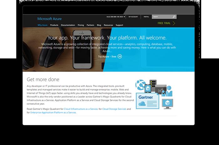 Windows Azure' web server