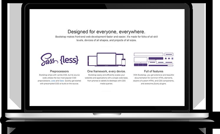 Bootstrap HTML Development