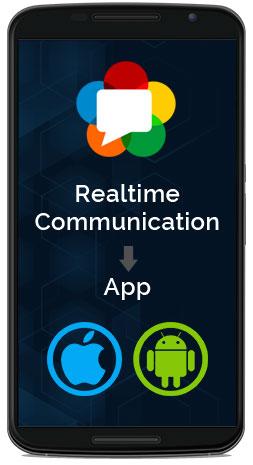 realtime communication app
