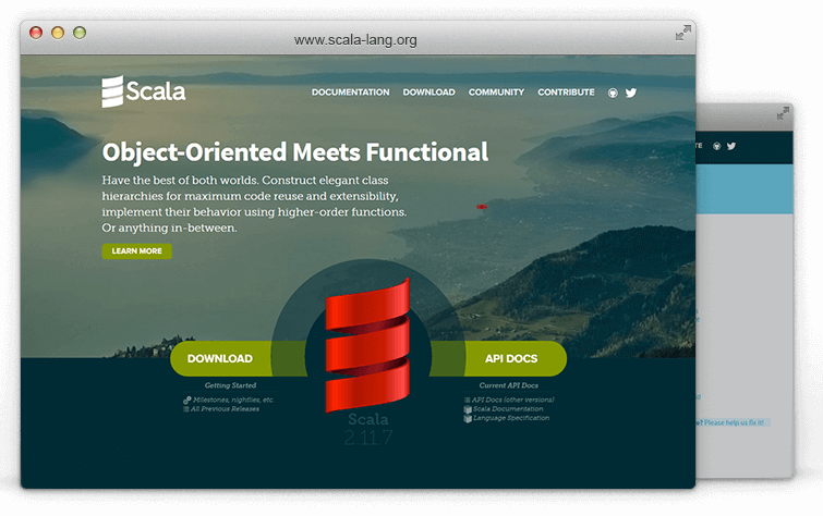 scala web application development