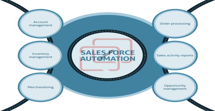 Tracking and Co-ordination of Business Proceedings via Salesforce Automation