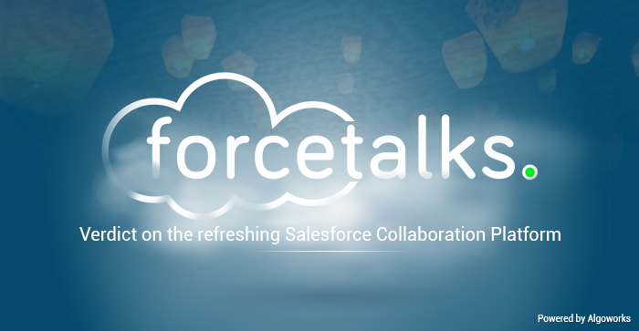 Forcetalks – A Salesforce Community Of You, For You, By You
