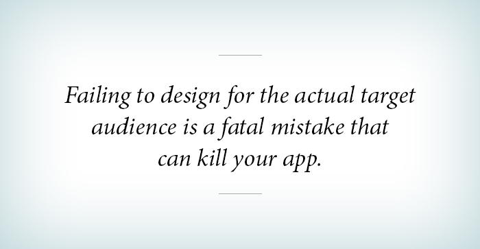 failing to design