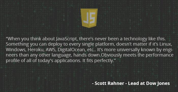node.js app development