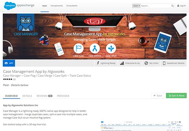 Case Manager Salesforce App