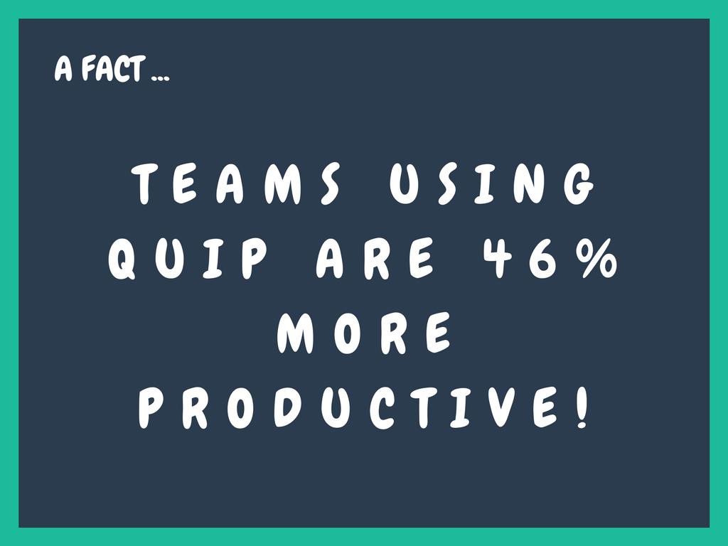 salesforce and quip