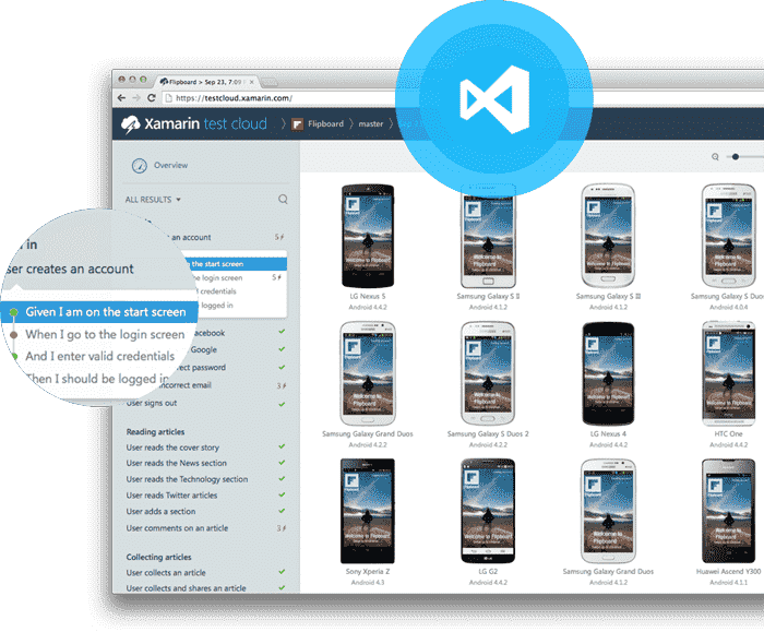 Explore the power of Mobile & web Xamarin App Development Using Xamarin - Hire Xamarin cross-platform app developers in USA, Canada & India!