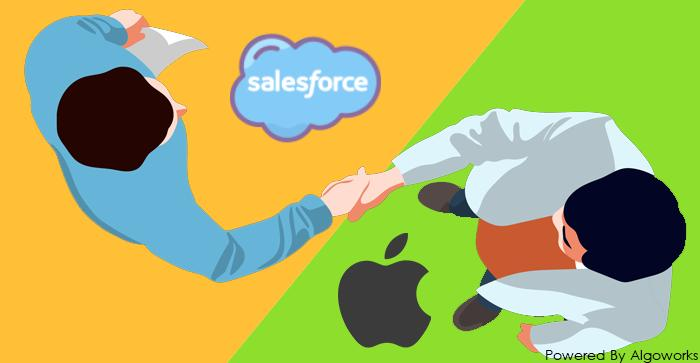 Partnership of The Year – Salesforce Team Up With Apple!