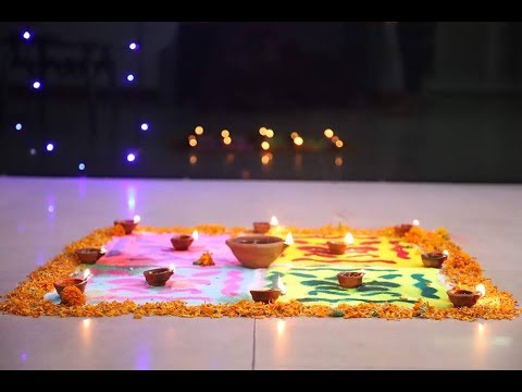 Rangoli Competition at Algoworks – Diwali Celebration 2018