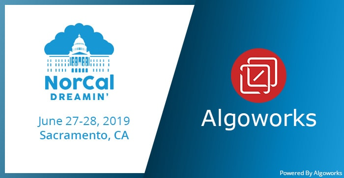 Attending NorCal Dreamin' 2019? Stop By Algoworks At Booth No. 14!