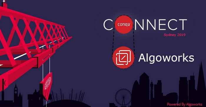 Algoworks Attends Conga Connect Sydney 2019