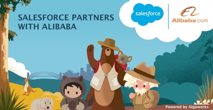 Entering A New Realm: Salesforce Partners With Alibaba