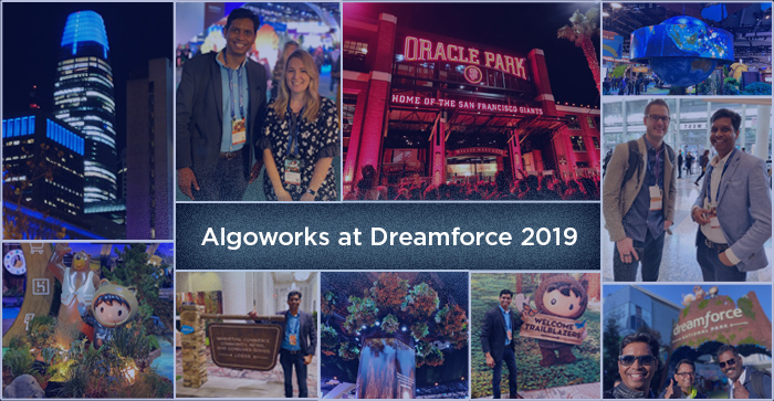 Keynotes, Insightful Sessions, & Vibrant Concerts: Algoworks' Experience at Dreamforce 2019