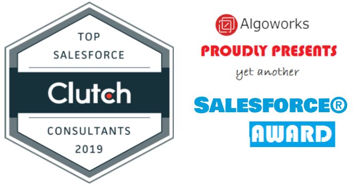 Algoworks Bags The Clutch 'Top Salesforce Consultants 2019' Award