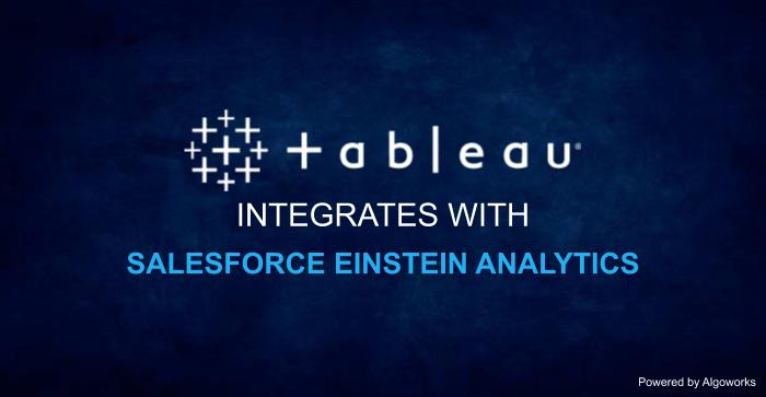 Tableau CRM: Tableau Integrates with Salesforce Einstein Analytics