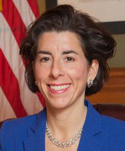 Gina M Raimondo