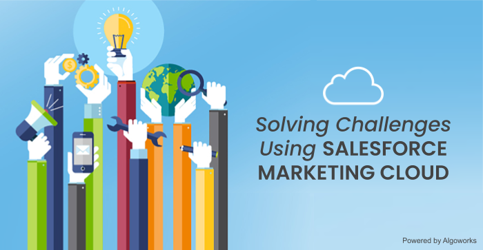 Salesforce Marketing Cloud: Helping Marketers Solve Challenges