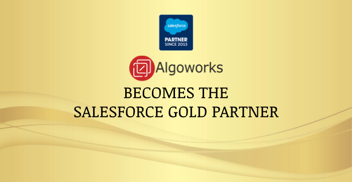 Algoworks Becomes Salesforce Gold Consulting Partner