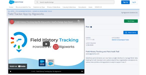 Field Tracking App| salesforce appexchange partner usa, 2020
