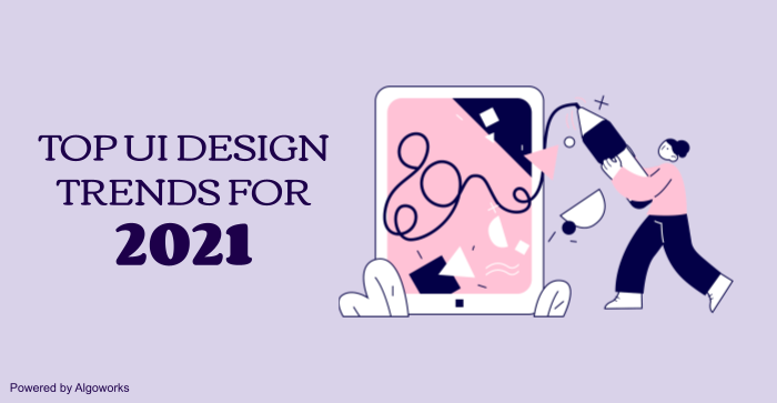 Top 6 UI Design Trends for 2021: 3D Designs, Glassmorphism, and more