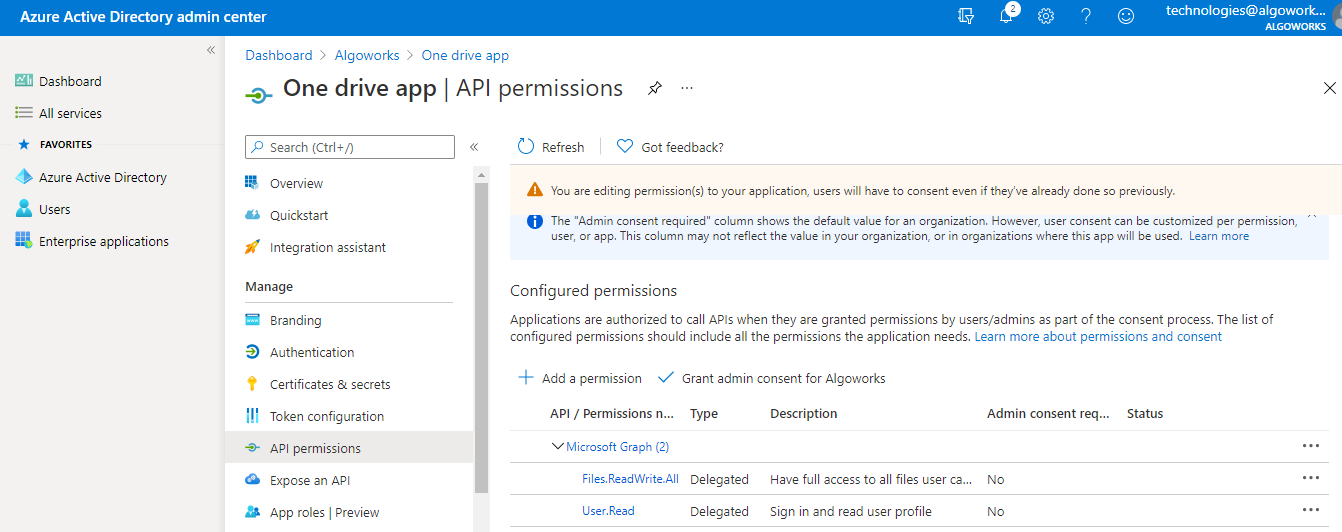 OneDrive and Salesforce Integration