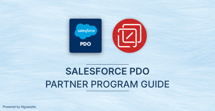 Salesforce PDO Partner Program 2021: A Guide