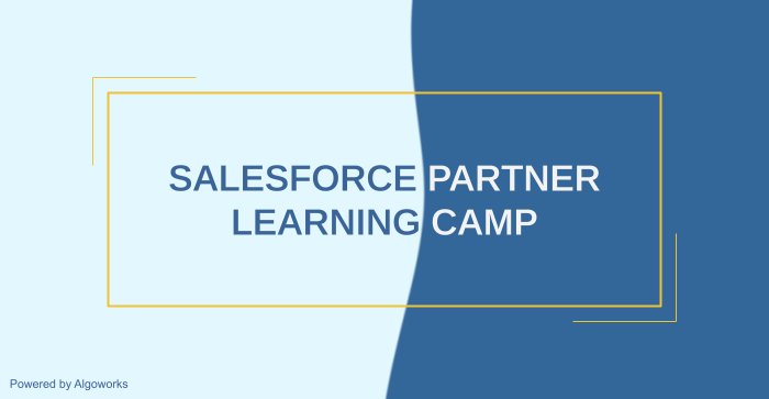 Salesforce Partner Learning Camp: A  Trailhead for Partners?