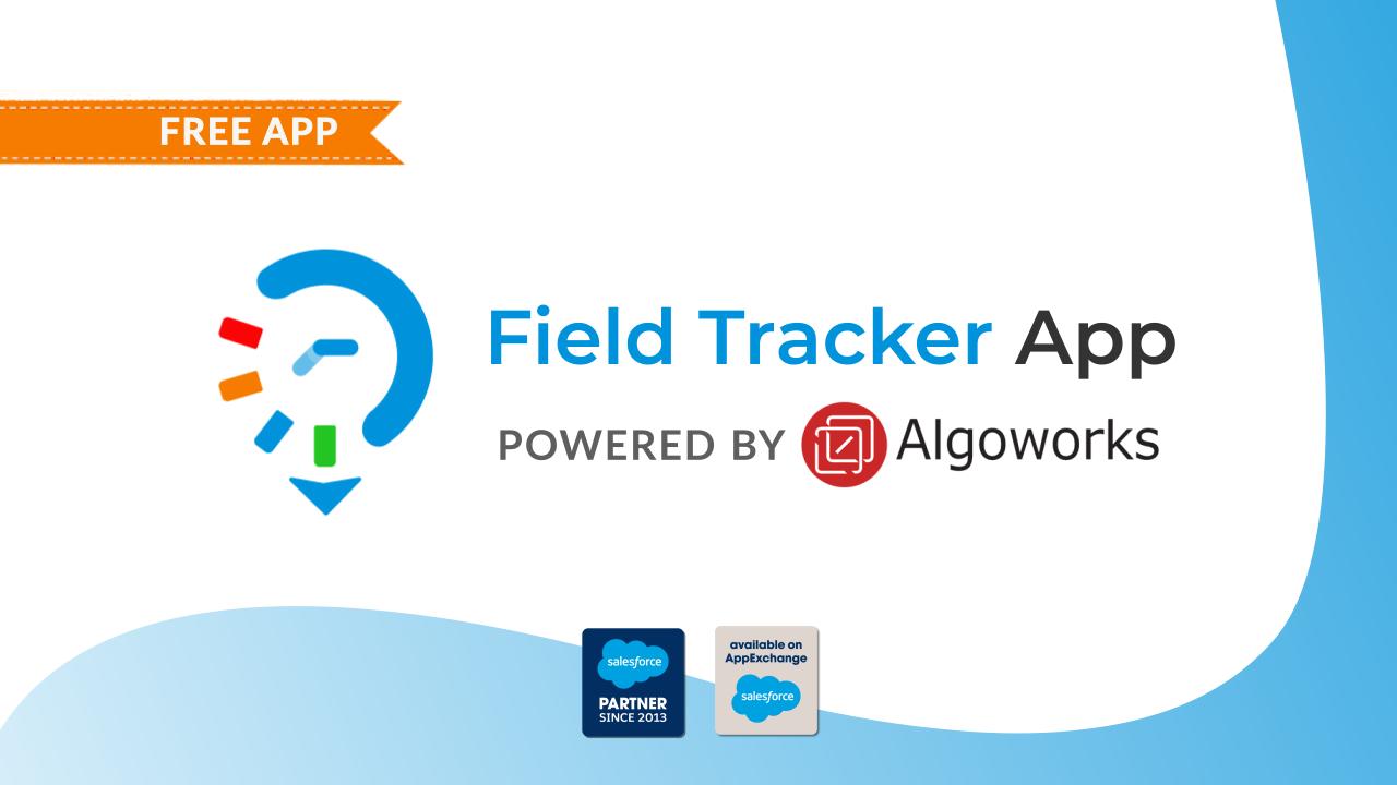 Field tracker app