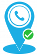 phone number location tracking logo