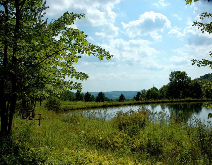 lake at retreat center