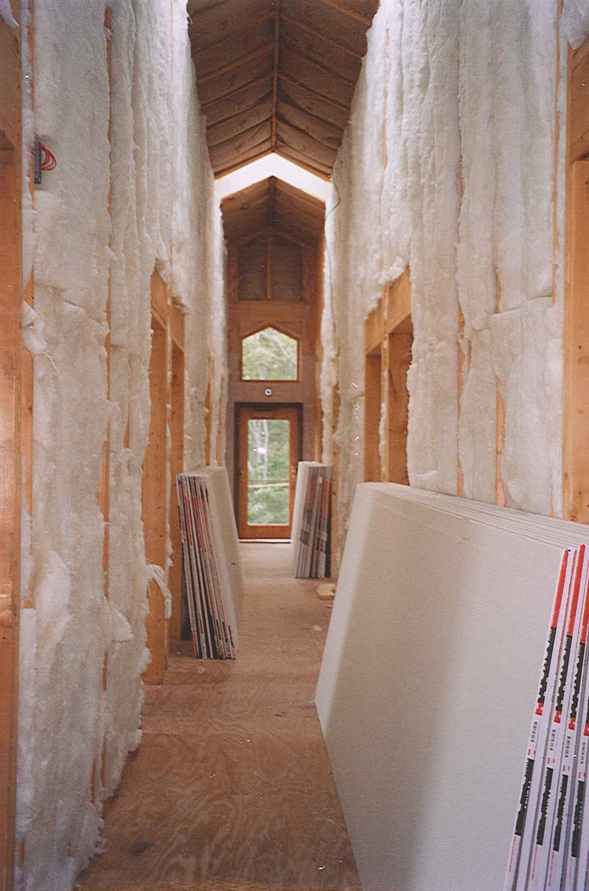 construction at light on the hill retreat center