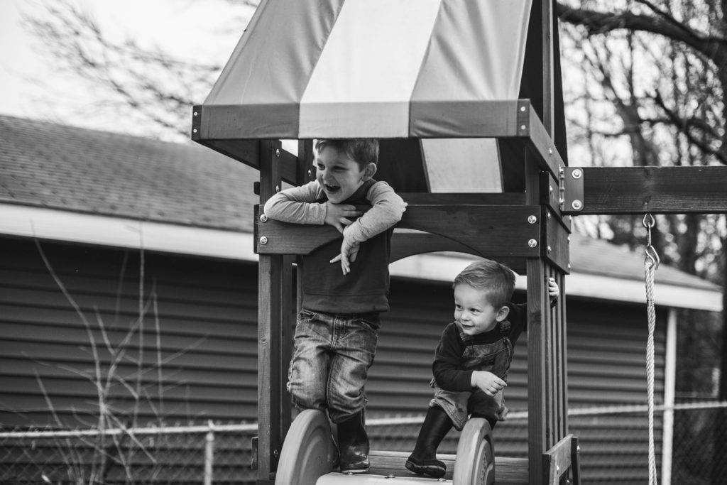 Grand Rapids, Michigan Lifestyle Portraits: The Meyers Family