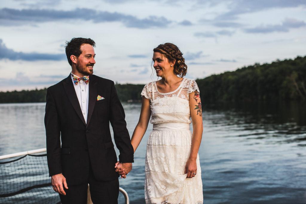 Montague, Michigan Wedding at Camp Pendalouan: Ellen + James