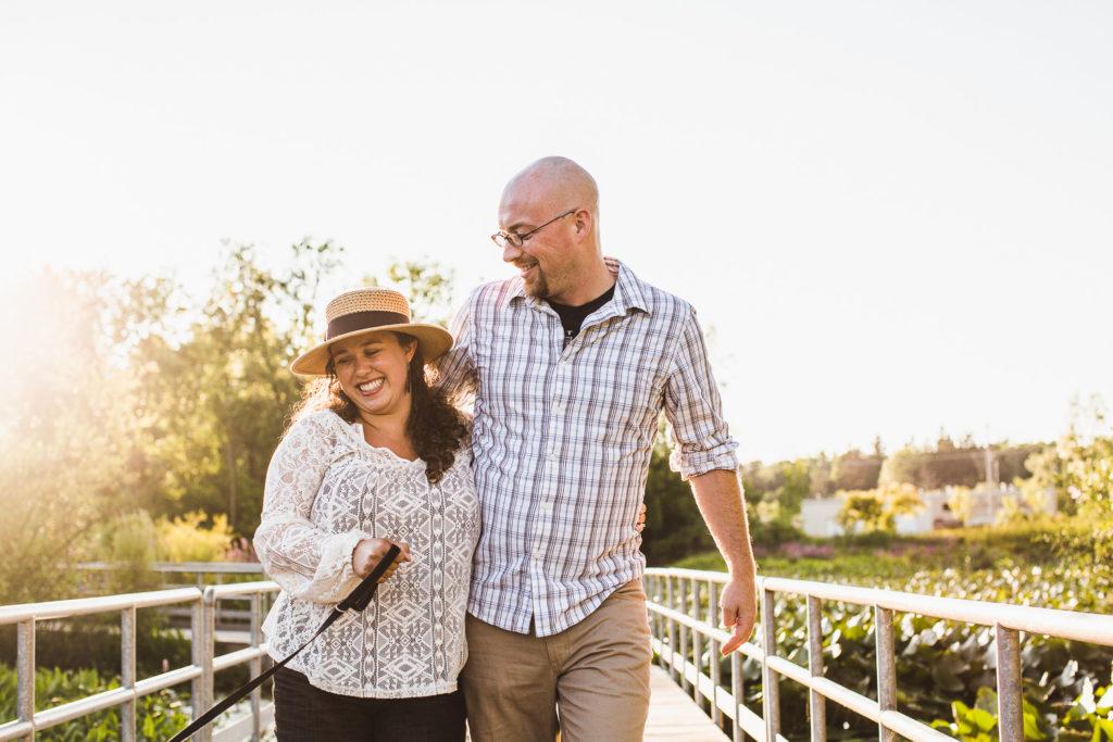 Grand Rapids, MI Engagement at Reeds Lake: Lauren + Luke