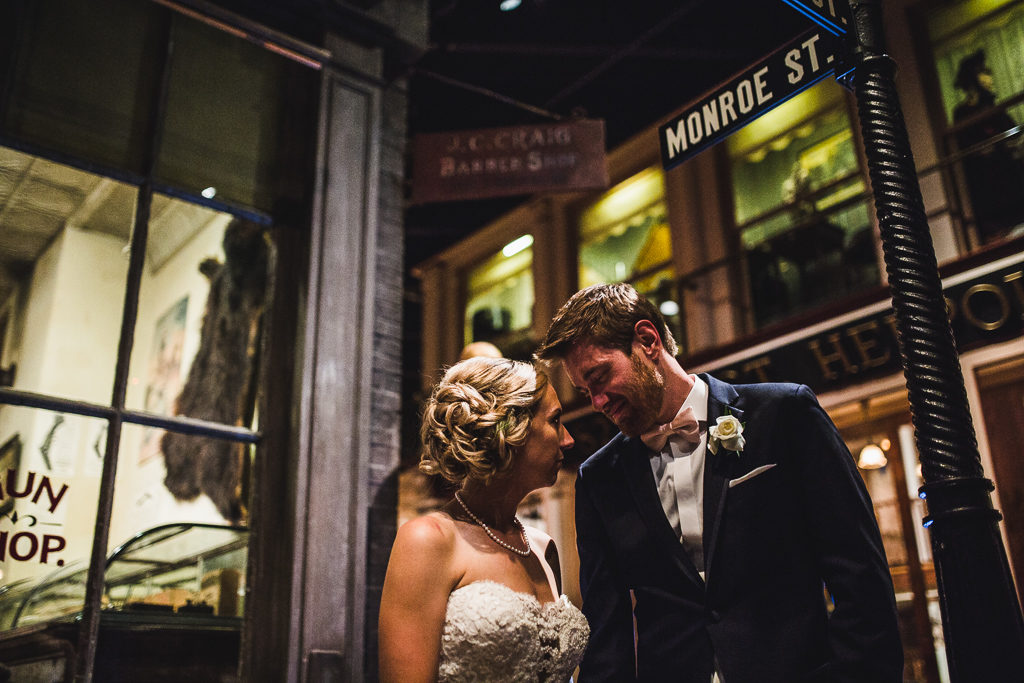 Grand Rapids Public Museum Wedding: Lisa + David