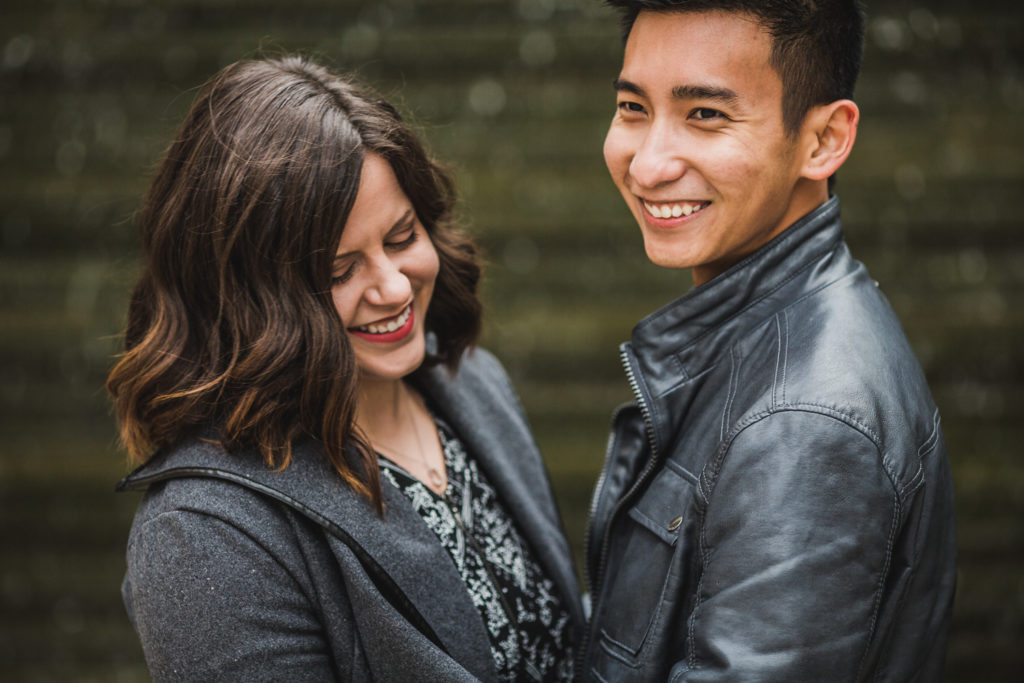 Grand Rapids, Michigan Engagement: Megan + Sanh