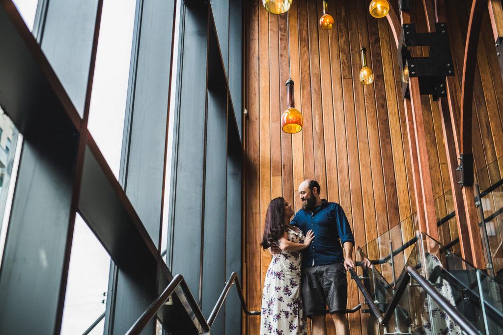 Chicago, Illinois Engagement: Ashlei + Sam