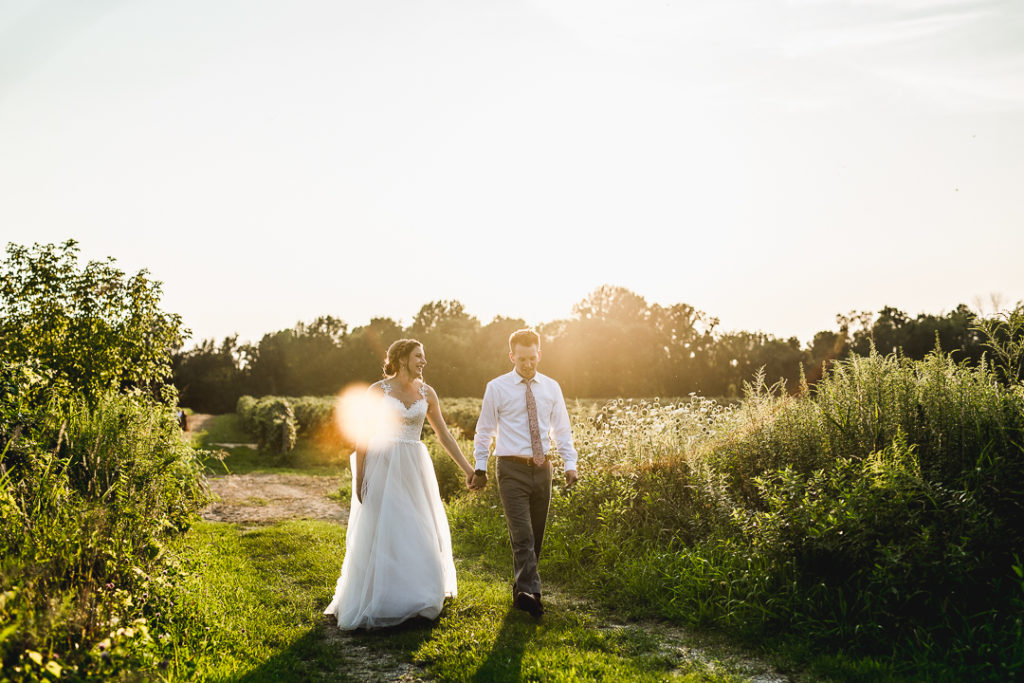Berrien Springs, Michigan Wedding at Hidden Vineyard: Brittany + Christian