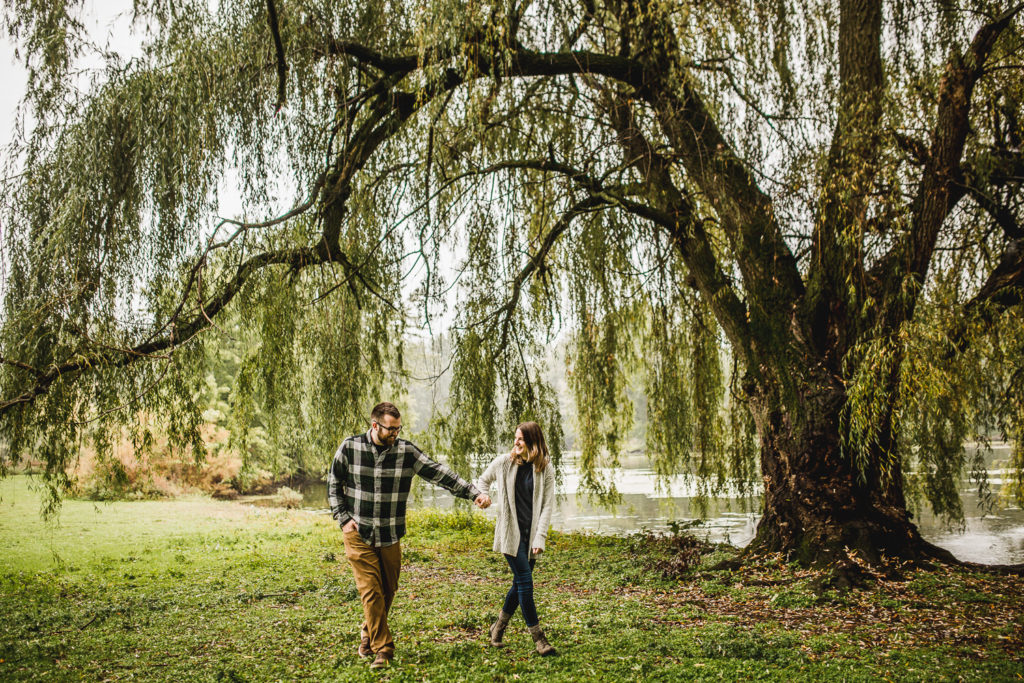 Grand Rapids, Michigan Engagement: Amy + Wes