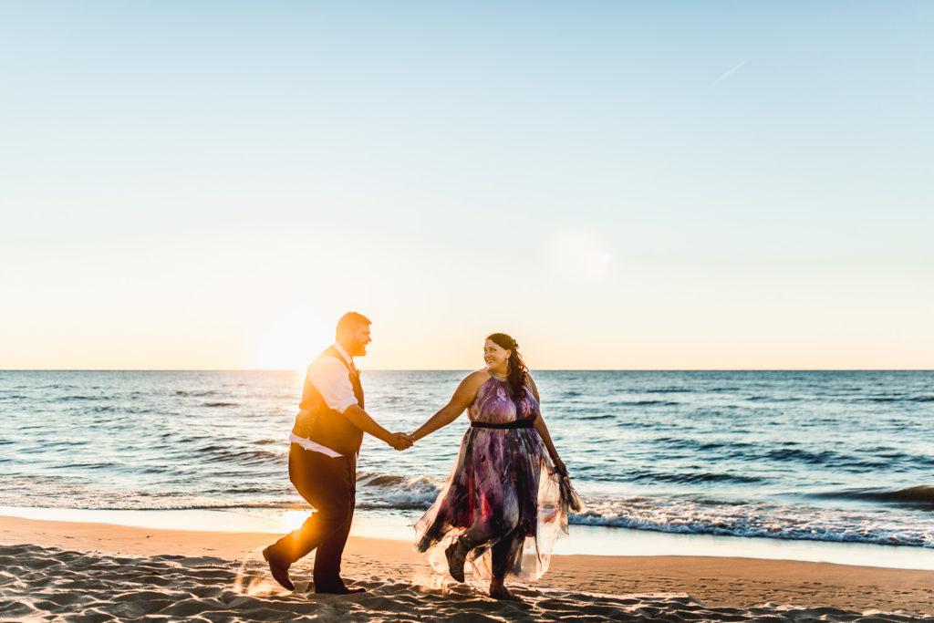 Bridgman, Michigan Wedding at Weko Beach House: Jaime + Rob