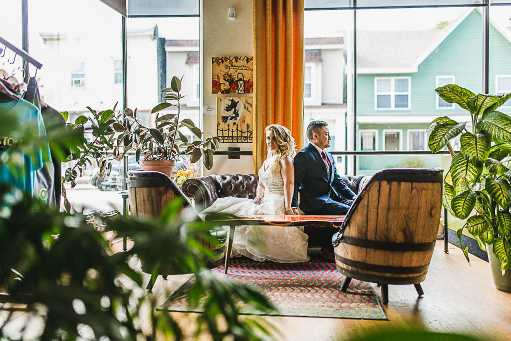 Grand Rapids, Michigan Wedding at English Hills Terrace: Candace + Steve