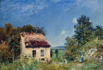 Abandoned House  1887 | Alfred Sisley | Oil Painting