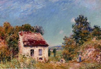 Abandoned House  1897 | Alfred Sisley | Oil Painting