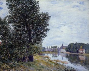 At Moret-sur-Loing  1892 | Alfred Sisley | Oil Painting