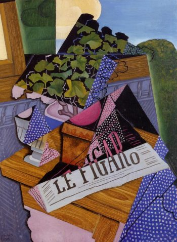 A Pot of Geraniums 1915 | Juan Gris | Oil Painting