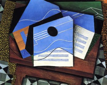 Guitar on a Table 1915 | Juan Gris | Oil Painting
