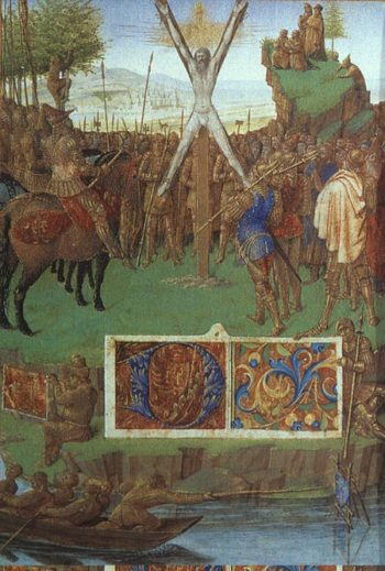 Martyrdom of St Andrew 1455 | Jean Fouquet | Oil Painting
